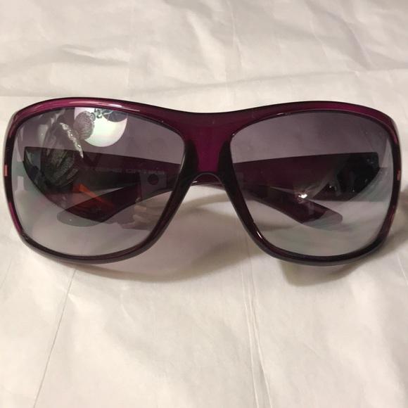 38f991a7915 Extreme Optiks purple black sunglasses